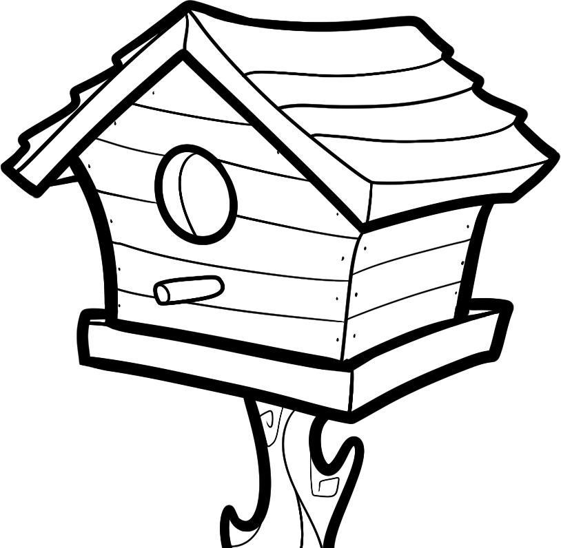 Gratis utskrivbare husfargeplasser for barn